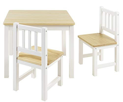 BOMI Stabile Kindersitzgruppe Amy 2 Stühle u...