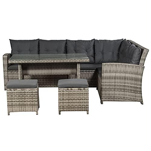 ArtLife Polyrattan Sitzgruppe Lounge Santa Ca...