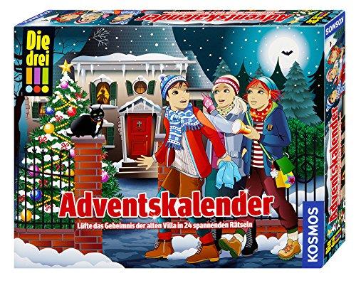 KOSMOS 630973 - Die drei !!! Adventskalender
