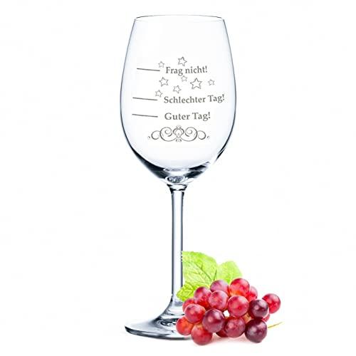 Leonardo XL Weinglas mit Gravur - Schlechter ...