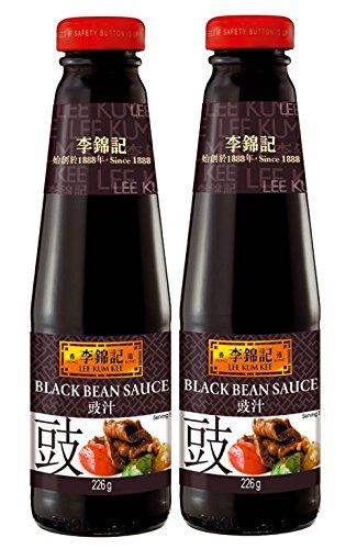[ 2x 226g ] LEE KUM KEE Schwarze-Bohnen Sauce...