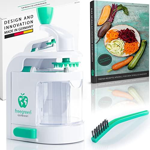 freegreen® Premium Spiralschneider mit Auffa...