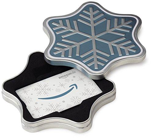 Amazon.de Geschenkkarte in Geschenkbox (Schne...