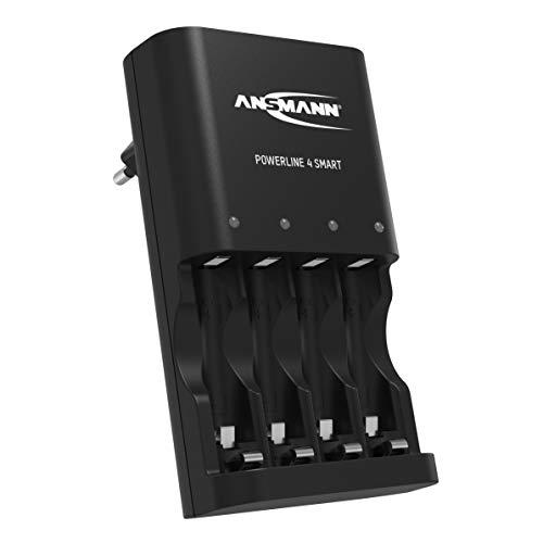 ANSMANN Batterieladegerät für 4x NiMH AA/AA...