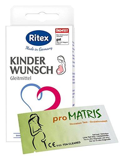 Ritex Kinderwunsch Gleitmittel 8 Applikatoren...