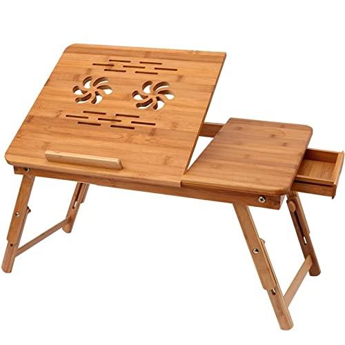 Himimi Bambus Laptoptisch Notebooktisch klapp...