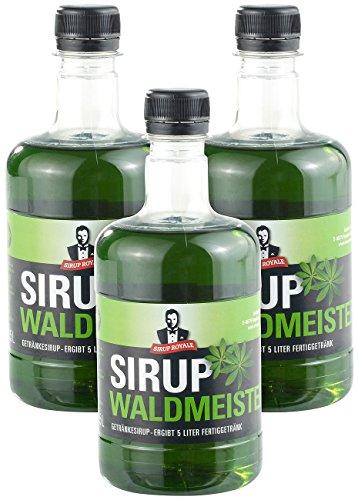 Sirup Royale mit Waldmeister-Geschmack, 3x 0,...