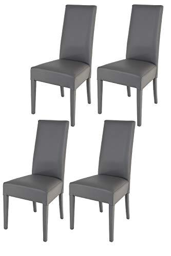 Tommychairs - 4er Set Moderne Stühle Luisa f...