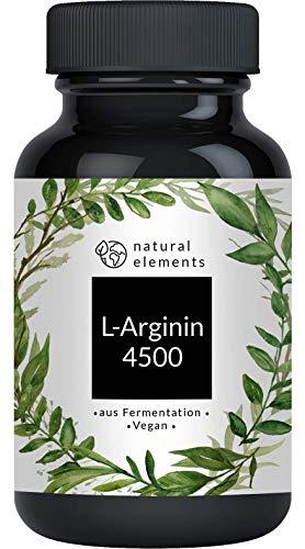 L-Arginin - 365 vegane Kapseln - 4500mg pflan...