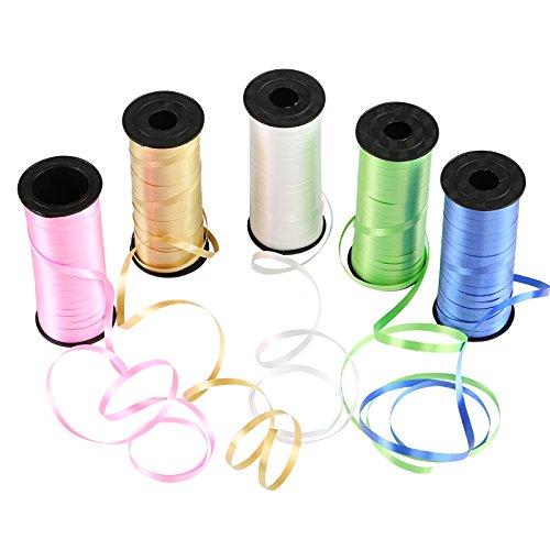 Naler Geschenkband Polyband in 5 Farben Ringe...