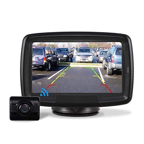 AUTO-VOX TD2 Rückfahrkamera Drahtlos Set mit...