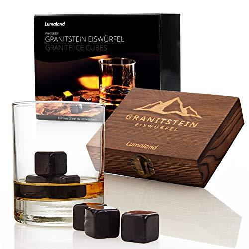 Lumaland 9 Whiskysteine aus Granit im Geschen...