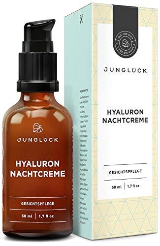 Junglück Nachtcreme mit Hyaluron & Arganöl ...