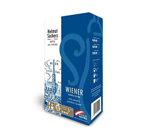 Helmut Sachers Kaffee Wiener Mischung, gemahl...