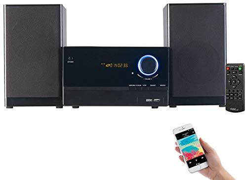 auvisio Mini Stereoanlage: Micro-Stereoanlage...