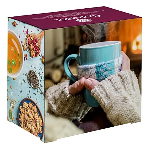 Premium Tee-Adventskalender 2019 XXL, 24 weih...