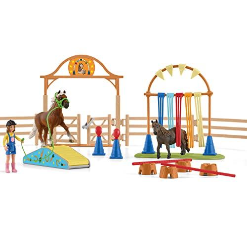 Schleich 42481 Farm World Spielset - Pony Agi...