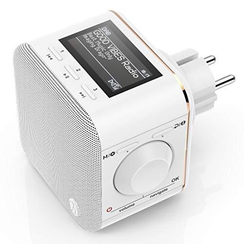 Hama Steckdosenradio DAB+/DAB Digitalradio kl...
