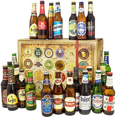 24x Bier aus aller Welt/Bier Geschenk Set/Ges...
