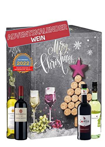 Wein Adventskalender mit 24 außergewöhnlich...