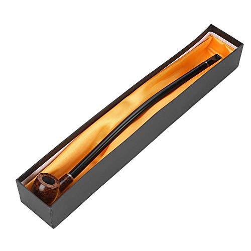Tabakpfeife Lang - 40.5cm Holzpfeife mit lang...