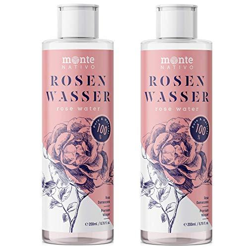Reines Rosenwasser MonteNativo 2x200ml (400ml...