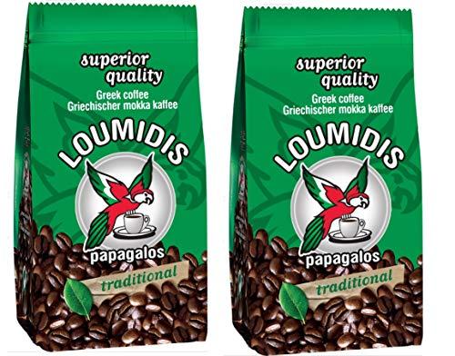 Loumidis griechischer Mokka Kaffee (2x 194 g)...