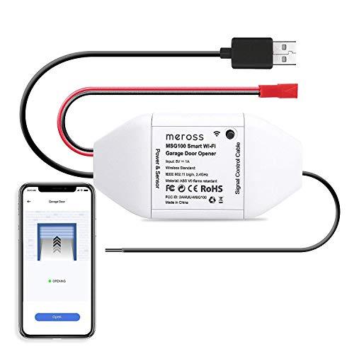 meross Smart WLAN Garagentoröffner, APP-Steu...