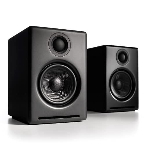 Audioengine A2+ 60W Aktiver Desktop-Lautsprec...