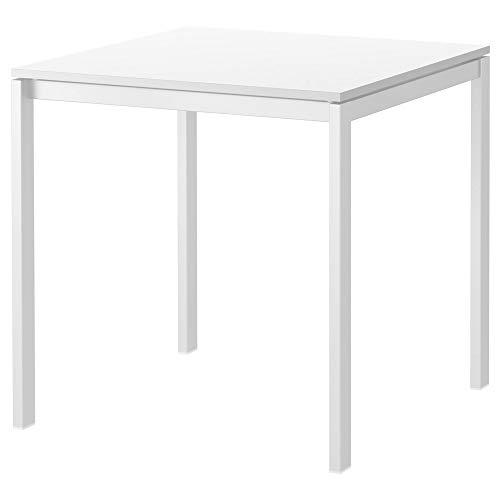 IKEA MELLTORP Esszimmer Tisch in weiß, 75x75...