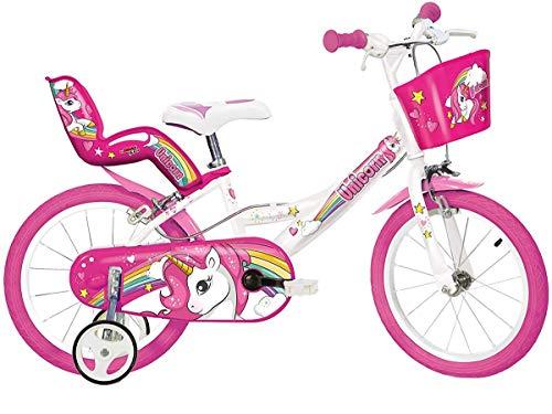 Dino Bikes 164R-UN Kinderfahrrad Fahrrad, Wei...