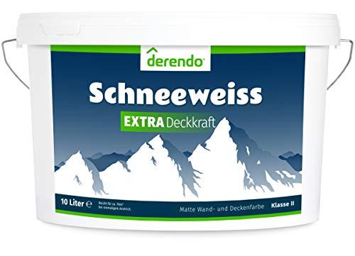 Derendo Schneeweiss Extra - 10l matte Innenfa...
