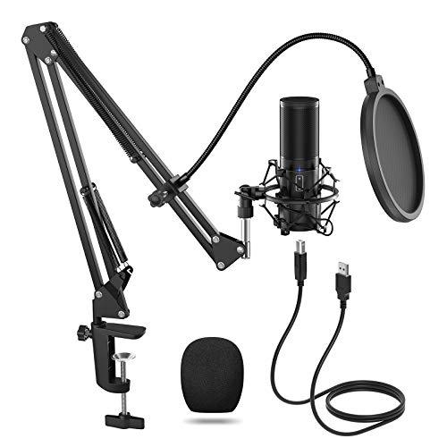 TONOR Q9 USB Mikrofon Kondensator Microphone ...