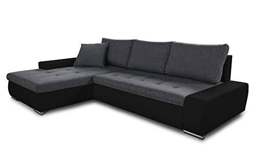Ecksofa mit Schlaffunktion Faris - Couch mit ...