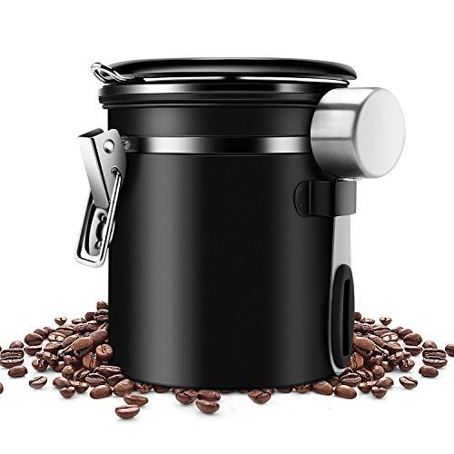 ZB ZealBoom Kaffeedose Luftdicht mit Messlöf...