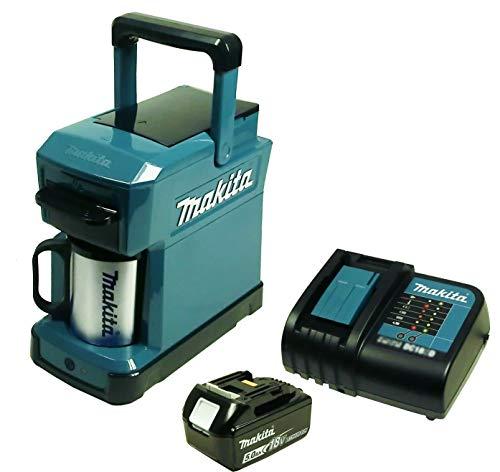Makita DCM 501 Akku-Kaffeemaschine mit Akku 5...