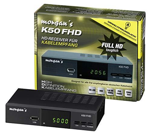 Morgan`s K50 FHD digitaler Full HD Kabelrecei...