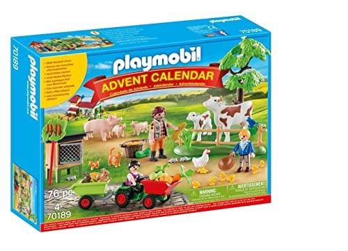 PLAYMOBIL Adventskalender 70189 Auf dem Bauer...