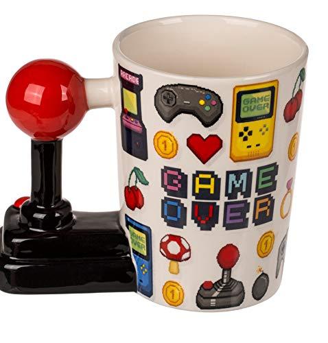 MC Trend Becher Tasse Game Over Joystick-Grif...