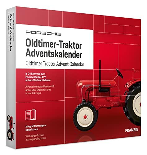 FRANZIS Porsche Oldtimer-Traktor Adventskalen...