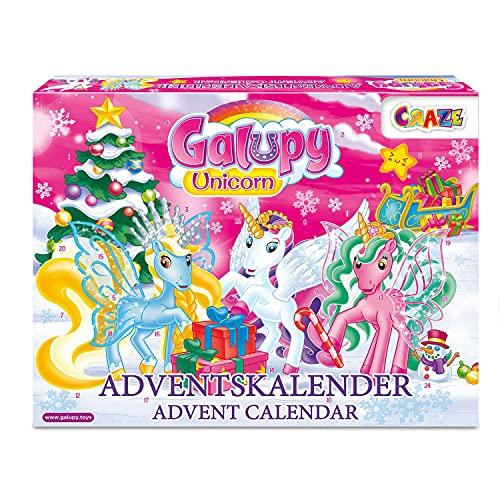 Craze Adventskalender 2020 GALUPY Unicorn Ein...