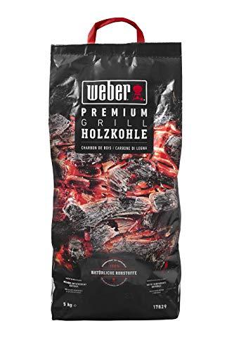 Weber 17829 Premium Holzkohle 5 kg