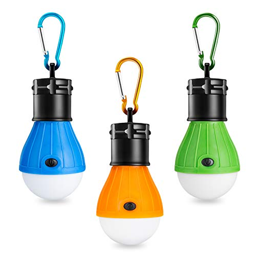 Winzwon Campinglampe, LED Camping Laterne, Tr...