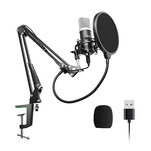 USB Mikrofon, 192kHZ / 24bit, uhuru Professio...