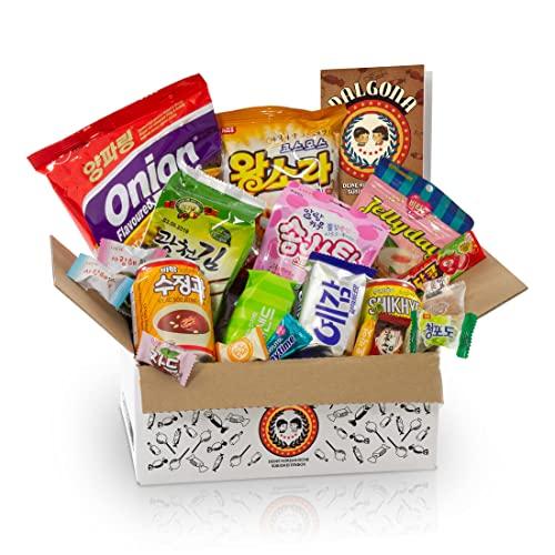 Dalgona-Box mit 20 koreanischen Süßigkeiten...