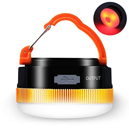 Karrong Campinglampe LED USB Wiederaufladbare...