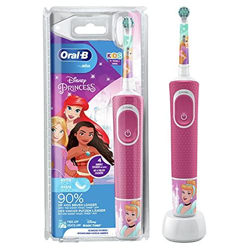 Oral-B Kids Prinzessin Elektrische Zahnbürst...