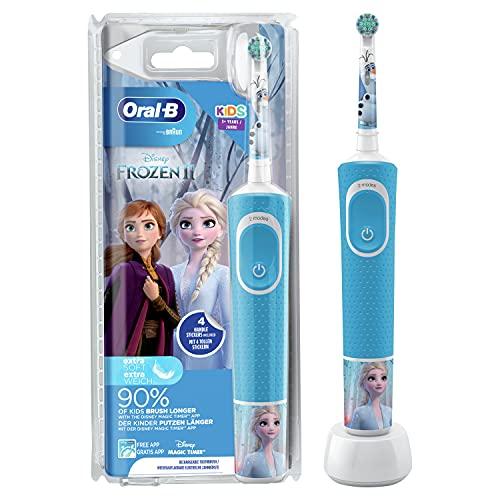 Oral-B Kids Frozen Elektrische Zahnbürste mi...
