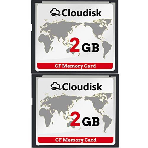 Cloudisk 2X CF-Karte Compact Flash 2 GB Speic...