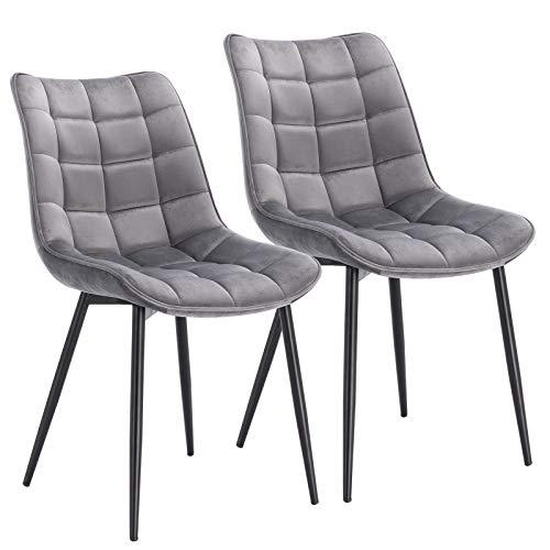 WOLTU® Esszimmerstühle BH142hgr-2 2er Set K...
